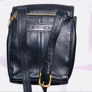 Fossil leather bag 7 compartments